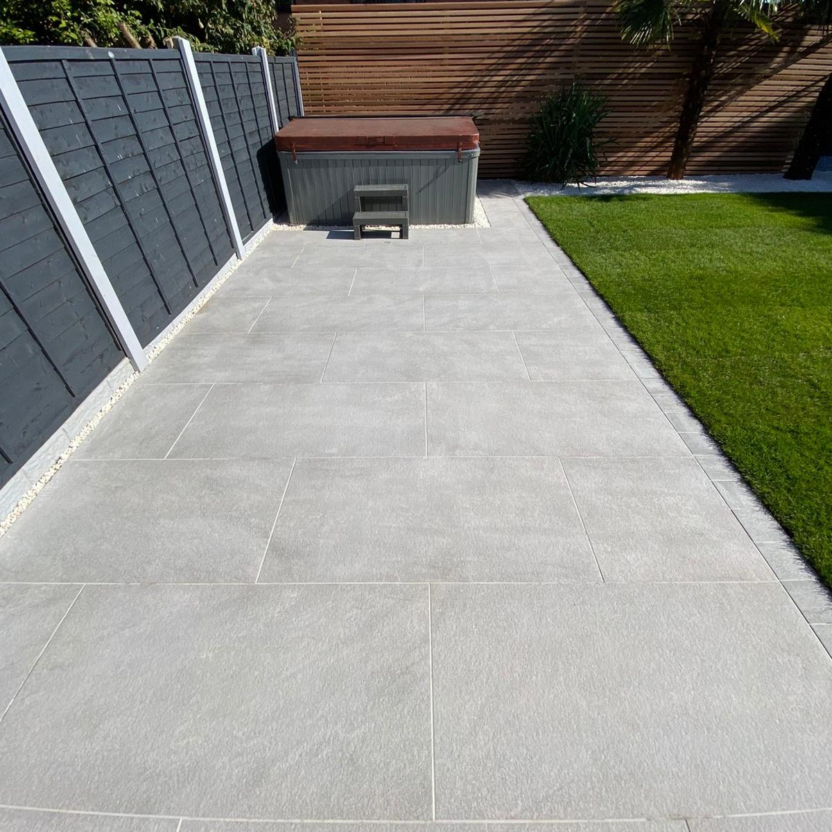 PRESTIGE (1200X600) Outdoor Porcelain Paving - 3 Colours - XL Tile - IN  STOCK 48Hrs Delivery - Cheshire Sandstone